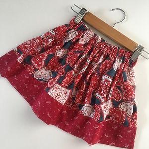 Other - Girl's Skirt - Size 2T - Bandana